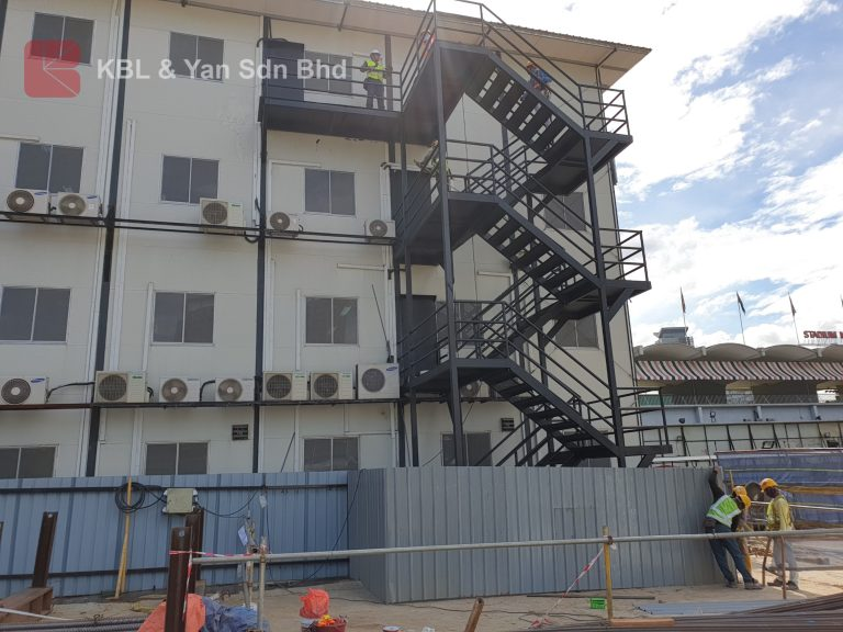 Egress Staircase